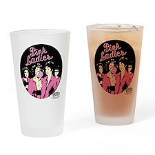 Pink Ladies Drinking Glass