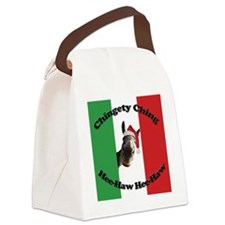 flag ching Canvas Lunch Bag