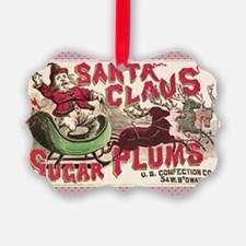 Santa Christmas Candy Vintage Hol Ornament