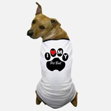 I Heart My Pit Bull Dog T-Shirt