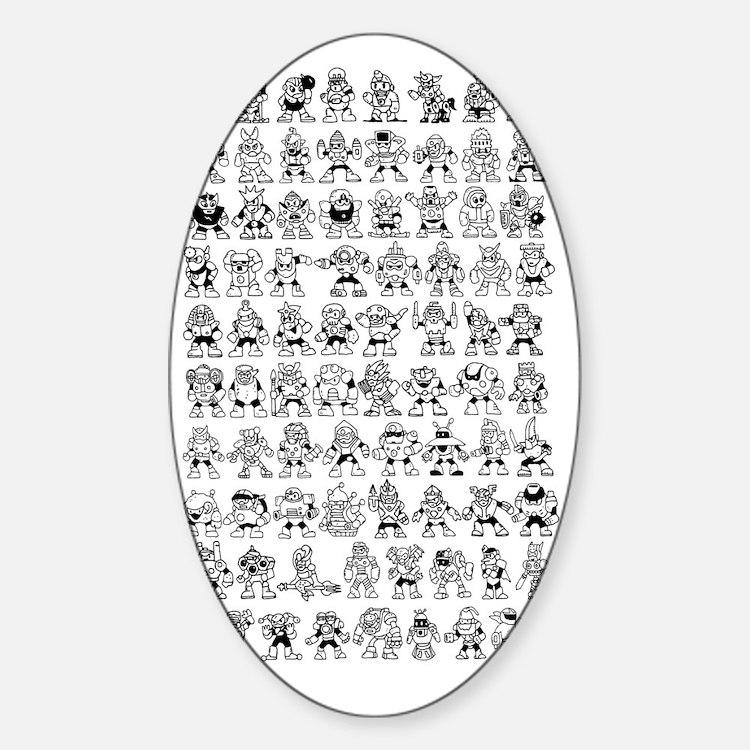 bosses Sticker (Oval)