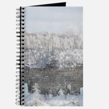 Snow Covered Winter Trees Journal