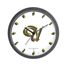 Phyllis Initial U Wall Clock