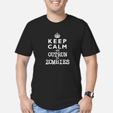 KEEP CALM but OUTRUN the ZOMBIES -wt- T