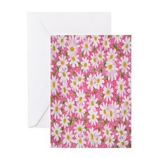 Preppy_Daisy2 Greeting Card