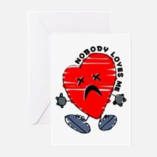 Nobody Loves Me Greeting Cards (Pk of 10)