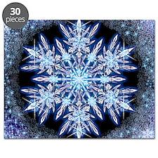 October Snowflake - square Puzzle