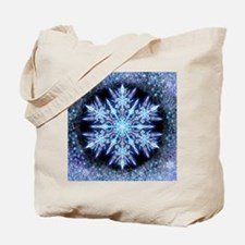 October Snowflake - square Tote Bag