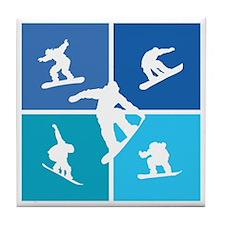 snowboarding3 Tile Coaster