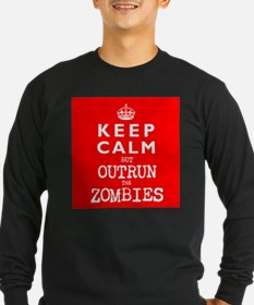KEEP CALM but OUTRUN the ZOMBIES -wr2-- T
