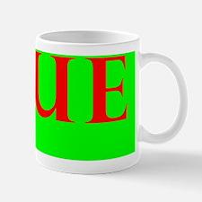 Yellow Offcenter Mug
