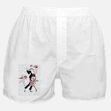 4 SLIDER-BARBIER -FlapperCpl 1 Boxer Shorts