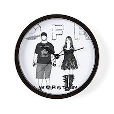OFR - TWIM Front Wall Clock