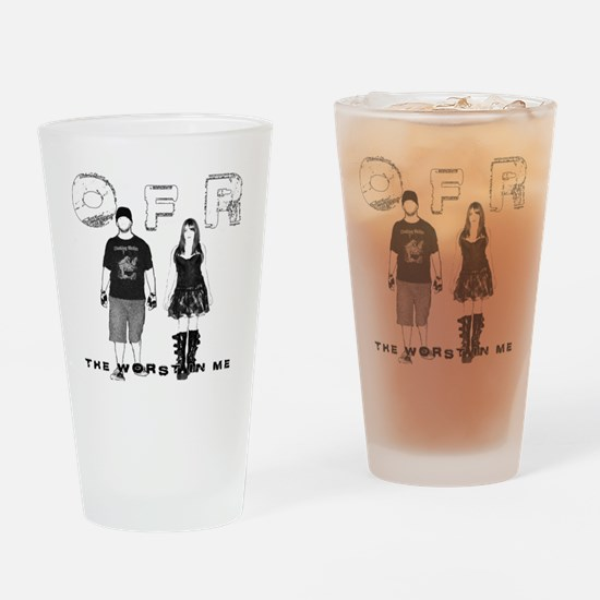OFR - TWIM Front Drinking Glass