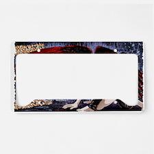 DarkDreams_wallcalendar License Plate Holder