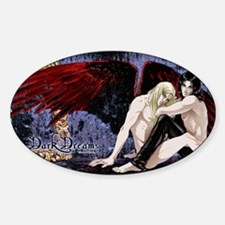 DarkDreams_wallcalendar Sticker (Oval)