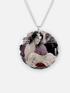 Idol_button Necklace