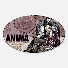 Anima_wallcalendar Sticker (Oval)