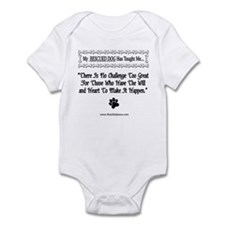 No Challenge Too Great Infant Bodysuit