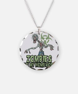 Zombies-Ate-Homework Necklace