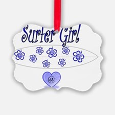surfer girltiff Ornament