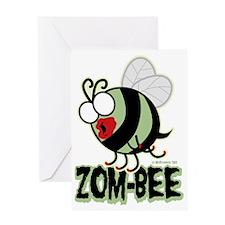 Zom-Bee Greeting Card