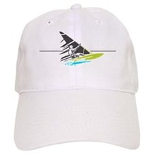 windsurfingrey2 Baseball Cap