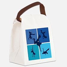 breakdance5 Canvas Lunch Bag
