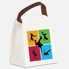 breakdance8 Canvas Lunch Bag