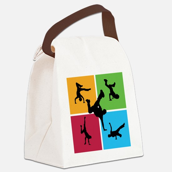 breakdance8 Canvas Lunch Bag