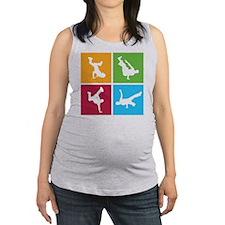 breakdance10 Maternity Tank Top