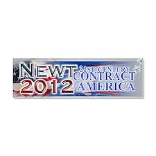 2012 newt gingrich Car Magnet 10 x 3