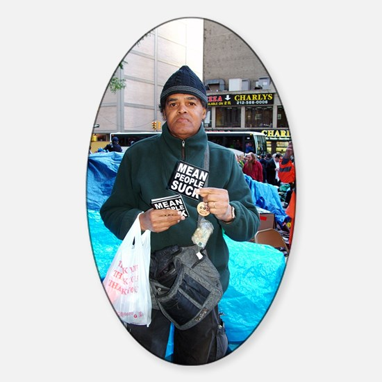 OWS: OccupyWallSt 027 Sticker (Oval)