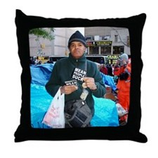 OWS: OccupyWallSt 027 Throw Pillow