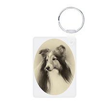 VSheltie#2Plain Keychains