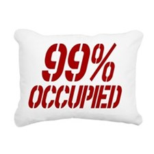 99percentoccupied3a Rectangular Canvas Pillow