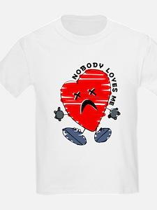 Nobody Loves Me Kids T-Shirt