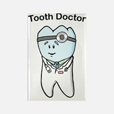 Tooth Doctor Rectangle Magnet