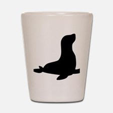 harbor_seal Shot Glass