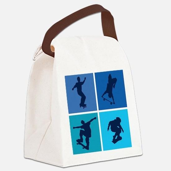 skateboarding3 Canvas Lunch Bag