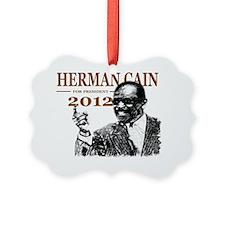 Cain2012YardSign Ornament