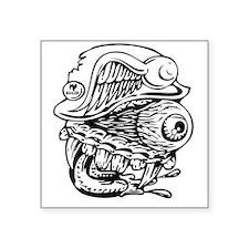 """Flying Eye Square Sticker 3"""" x 3"""""""