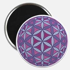 FlowerOfLife_Uni_Lrg Magnet