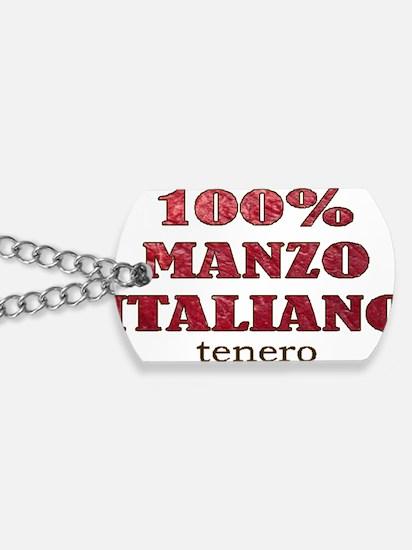 MANZO ITALIANO.gif Dog Tags