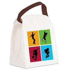 skateboarding Canvas Lunch Bag