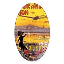 French Vintage Aviation  Decal
