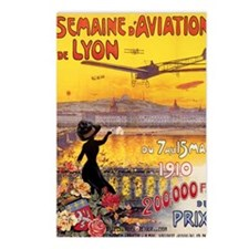 French Vintage Aviation  Postcards (Package of 8)