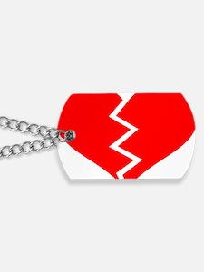 heart_broken_new Dog Tags