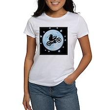 santa-moon-bike-CRD Tee