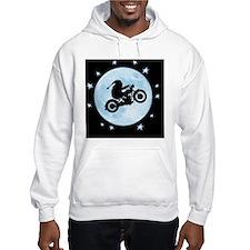 santa-moon-bike-CRD Hoodie